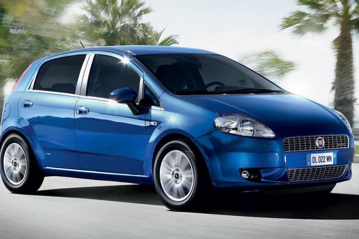 Fiat Grande Punto (manual)