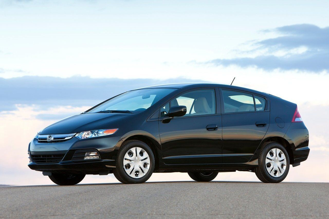 Honda insight hybrid automatic automatic car hire in for Honda hybrid cars